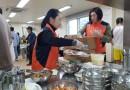 통일을 실천하는 사람들 배식봉사