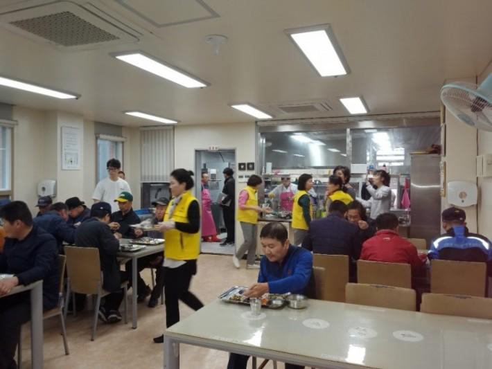 비파회식당배식봉사